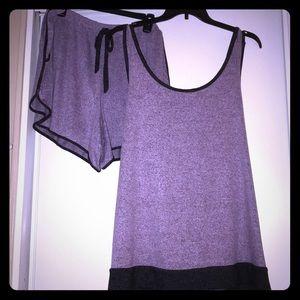 NWT Cacique super soft short pajama set size 22/24